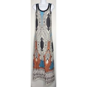 Karen Kane maxi dress Medium blue